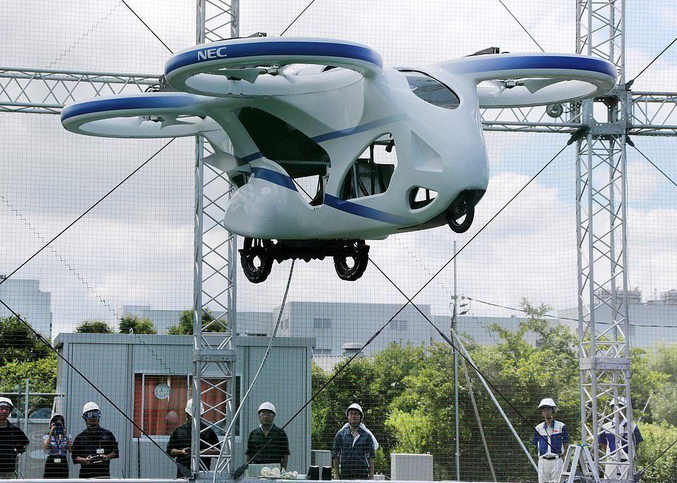 خودروهای پرنده آینده چه شکلی هستند؟