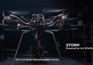 DJI Studio پهپاد پیشرفته STORM با قابلیت حمل دوربین ۱۸.۵ کیلوگرمی را معرفی کرد