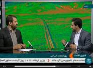 حضور دبیر کارگروه پهپاد در برنامه زنده تلوزیونی