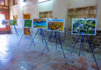 گزارش تصویری- مراسم افتتاحیه نمایشگاه عکس تصاویر هوایی با پهپاد