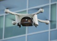 شرکت UPS  برای اولین بار توانست مجوز حمل بار با پهپاد را از  FAA دریافت کند.