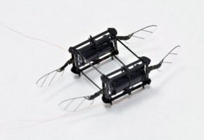زنبور رباتیک در شلوغ ترین فضا پرواز می کند و آسیب نمی بیند
