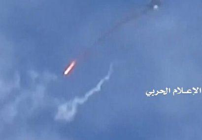 هواپیمای جاسوسی عربستان در یمن سرنگون شد