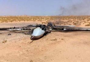 ارتش سوریه پهپادهای گروههای تروریستی را سرنگون کرد