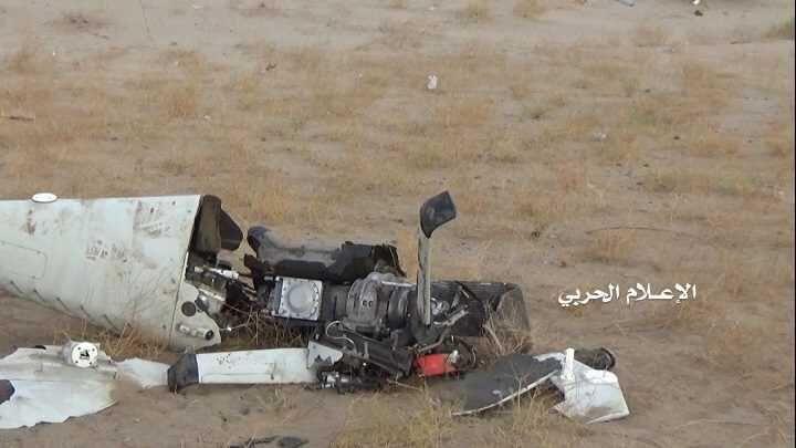 سرنگونی هواپیمای جاسوسی سعودی توسط انصارالله یمن