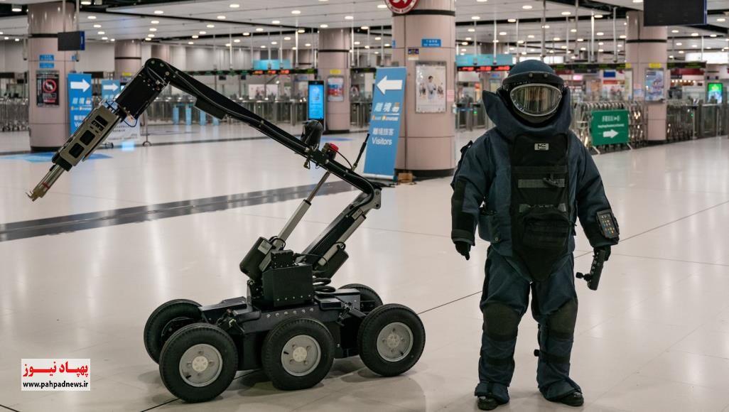 رباتها و پهپادها برای مقابله با کرونا به کمک سه کشور عربی رفتند