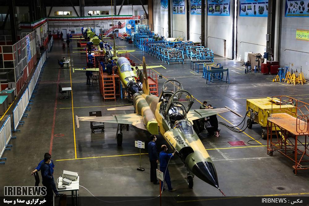 راهاندازی خط تولید جنگنده کوثر و تحویل آن به ارتش