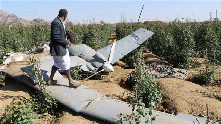 یمن پهپاد سعودی را سرنگون کرد