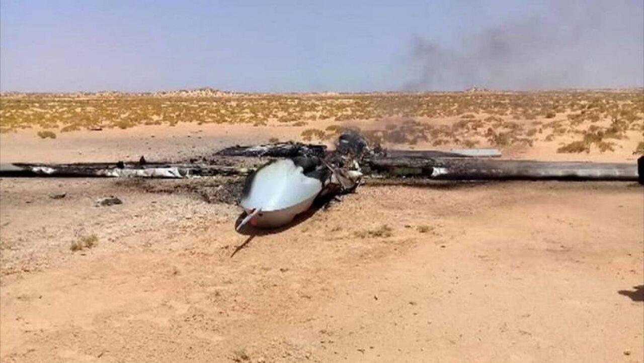 نیروهای حفتر پهپاد ترکیه را در لیبی سرنگون کردند