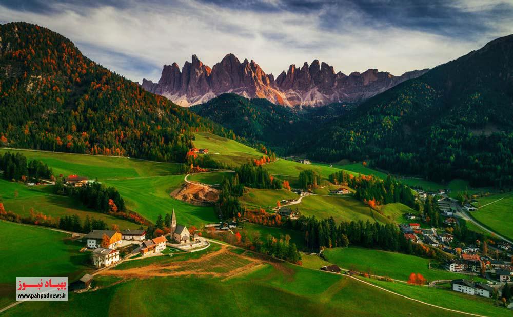 بهترین عکس های هوایی سال به انتخاب SKYpixel