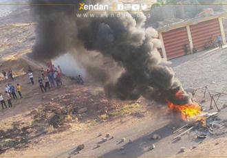 سقوط دو هواپیمای بی سرنشین ترکیه در اقلیم کردستان