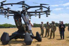 رونمایی پهپاد سرنشین دار HEXA تک نفره یکی از پانزده شرکتی است که از طریق مسابقه هوایی Agility Prime انتخاب شده اند.
