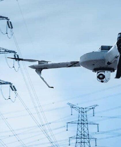 تشخیص عیوب خطوط شبکه انتقال برق منطقهای خراسان با پهپاد انجام میشود