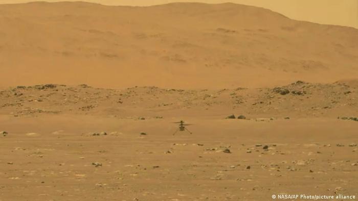 """""""پرواز تاریخی""""؛ گردش هوایی بالگرد ناسا بر فراز مریخ"""